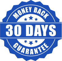 30 Days Money Back Guarantee seal